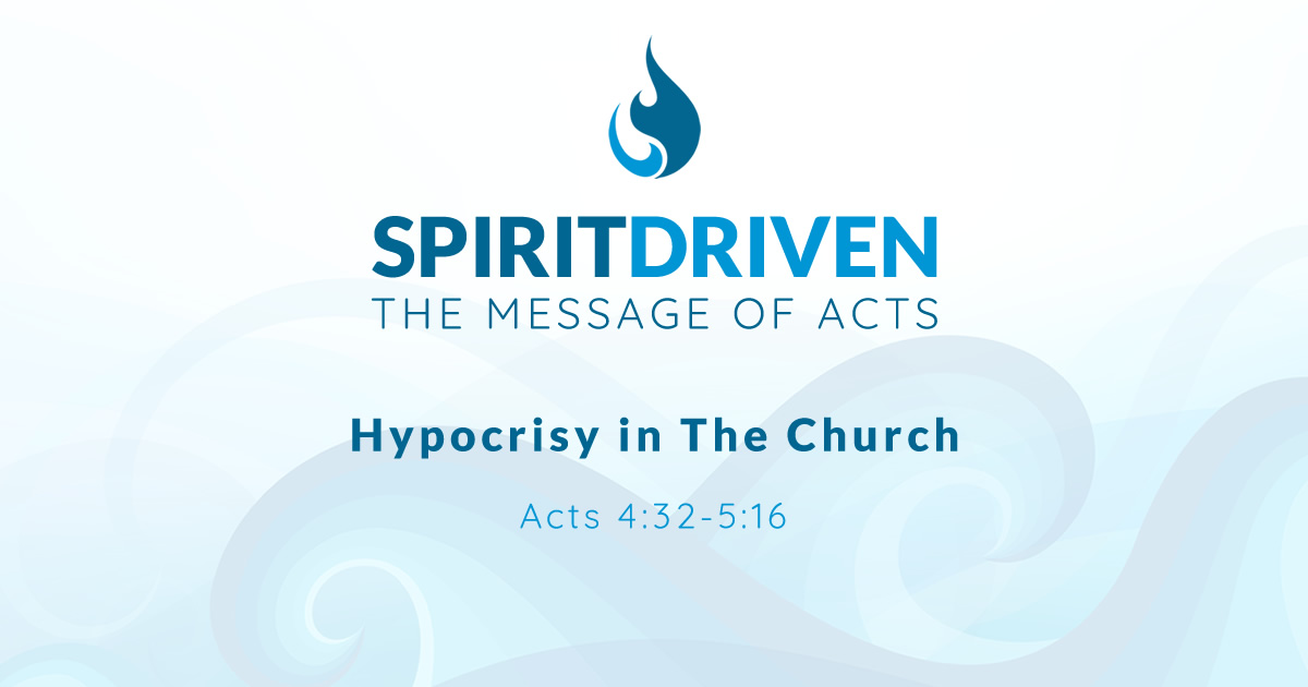 Hypocrisy in The Church